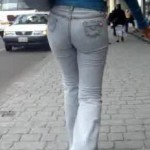 Tight latina jeans for you pervs...