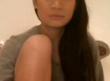 Hot Asian Masturbates