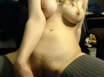 Hairy Pussy Dildo