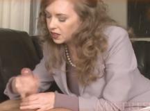 Joi Mom Fleshlight TIps Dressed like Hilary Clinton