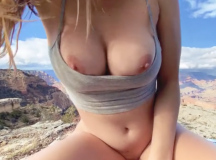Outdoor Sex with a View!