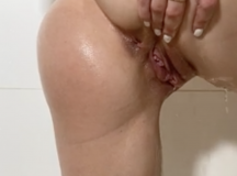 Amateur in Shower